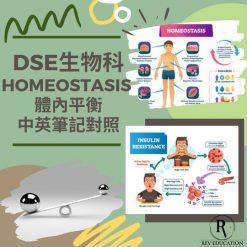 網上補習 Dse Biology 補習 Homeostasis 體內平衡