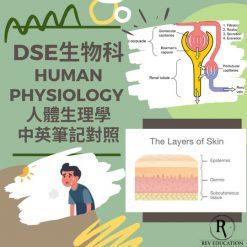 Dse Biology 補習 Human Physiology 人體生理學