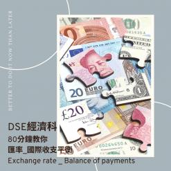 網上補習 Dse Econ 補習 匯率_國際收支平衡 Exchange rate _ Balance of payments