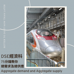 網上補習 Dse Econ 補習 總需求及總供應 Aggregate demand _ Aggregate supply