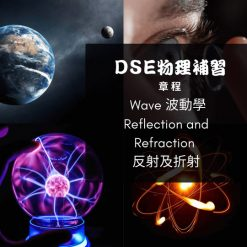 Dse Physics 補習 Wave 波動學II Reflection and Refraction 反射及折射